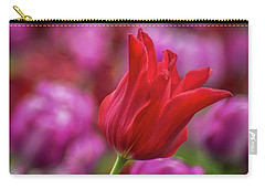 Carry-all Pouch featuring the photograph Brazenly Delicate by Bill Pevlor