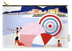 Brazil Vintage Travel Poster Restored Carry-all Pouch