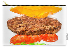 Brazilian Salad Cheeseburger Carry-all Pouch