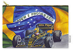 Brazil's Ayrton Senna Carry-all Pouch