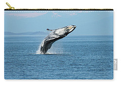 Breaching Humpback Whales Happy-3 Carry-all Pouch