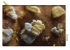 Bread Macro Food Carry-all Pouch by David Haskett