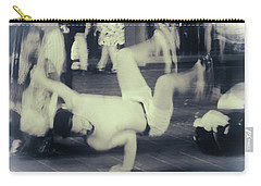 Carry-all Pouch featuring the photograph Break Dance by Rasma Bertz