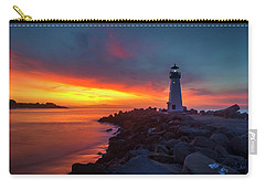 Break Of Day At Walton Lighthouse Carry-all Pouch