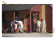 Carry-all Pouch featuring the photograph Break Time by Eric Liller