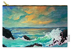 Breakers Carry-all Pouch by Holly Martinson
