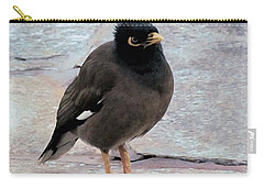 Breakfast Greeter, Maui Carry-all Pouch by I'ina Van Lawick