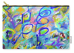 Breaking Boundaries Abstract Carry-all Pouch