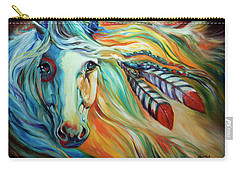 Breaking Dawn Indian War Horse Carry-all Pouch