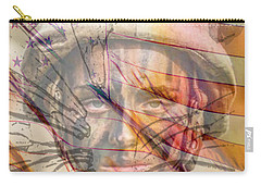 Breaking The Glass Ceiling Carry-all Pouch by Mary Ward