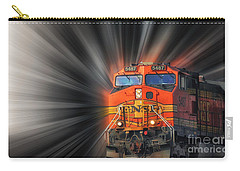 Carry-all Pouch featuring the photograph Breaking Through by Geraldine DeBoer