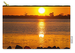 Breakwater Sunset Carry-all Pouch