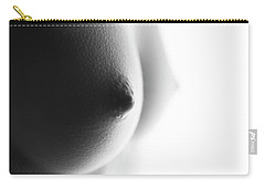 Breasts In Black And White Carry-all Pouch