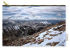Carry-all Pouch featuring the photograph Breathing More Than Just A Little by Jim Hill