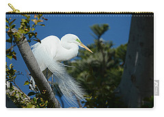 Carry-all Pouch featuring the photograph Breeding Beauty by Fraida Gutovich