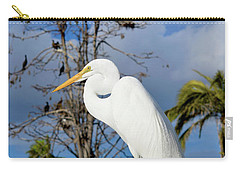 Breezy Egret Carry-all Pouch