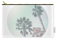 Breezy Palm Trees- Art By Linda Woods Carry-all Pouch by Linda Woods