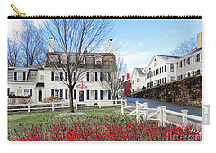 Brewster Gardens At Leyden Street  Carry-all Pouch