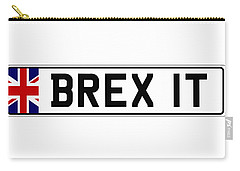 Brexit Number Plate Carry-all Pouch