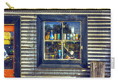 Carry-all Pouch featuring the photograph Bric-a-brac by Wayne Sherriff