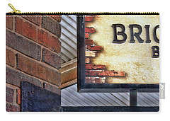 Carry-all Pouch featuring the photograph Brick Bar by Nikolyn McDonald