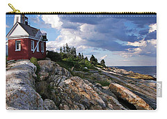 Brick Bell House At Pemaquid Point Light Carry-all Pouch