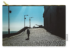Carry-all Pouch featuring the photograph Brick By Brick by Colleen Kammerer