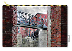 Brick Mill Window View, Saco, Me Carry-all Pouch