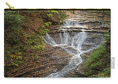 Carry-all Pouch featuring the photograph Bridal Veil Falls by Dale Kincaid