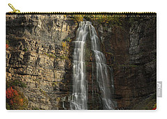 Carry-all Pouch featuring the photograph Bridal Veil Falls by Dustin LeFevre
