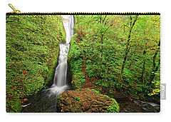 Bridal Veil Falls Carry-all Pouch by Jonathan Davison