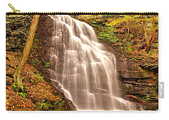Bridal Veil Falls Carry-all Pouch by Nick Zelinsky
