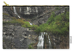 Bridal Veil Falls Provo Canyon Utah Fine Art Photograph Carry-all Pouch