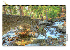 Bridalveil Creek At Yosemite By Michael Tidwell Carry-all Pouch