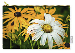 Carry-all Pouch featuring the photograph Bride And Bridesmaids by Bill Pevlor