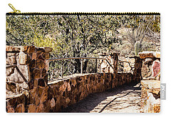 Bridge Over Desert Wash Carry-all Pouch