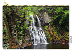 Carry-all Pouch featuring the photograph Bridesmaid's Falls by Raymond Salani III
