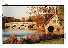 Bridge And Boat House On The Rye Water - Maynooth, Ireland Carry-all Pouch