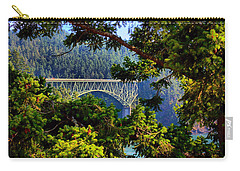 Bridge At Deception Pass Carry-all Pouch