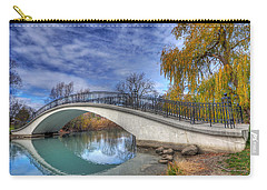 Bridge At Elizabeth Park Carry-all Pouch