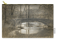 Bridge At The Fens Carry-all Pouch