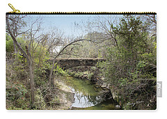 Bridge At The Zoo Carry-all Pouch
