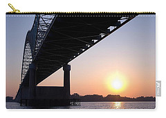 Bridge Over Mississippi River Carry-all Pouch