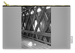 Carry-all Pouch featuring the photograph Bridge Glow by Greg Fortier