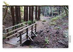 Bridge In The Redwoods Carry-all Pouch