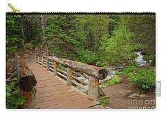 Bridge Near Bear Lake Trail Carry-all Pouch by John Roberts
