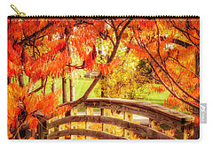 Bridge Of Fall Carry-all Pouch by Kristal Kraft