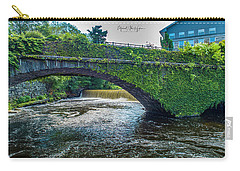 Bridge Of Flowers Carry-all Pouch