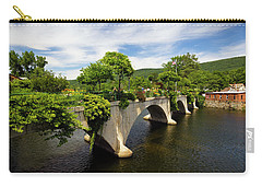 Bridge Of Flowers Shelburne Falls, Ma Carry-all Pouch by Betty Denise