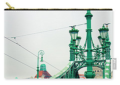 Bridge Of Liberty In Budapest Carry-all Pouch